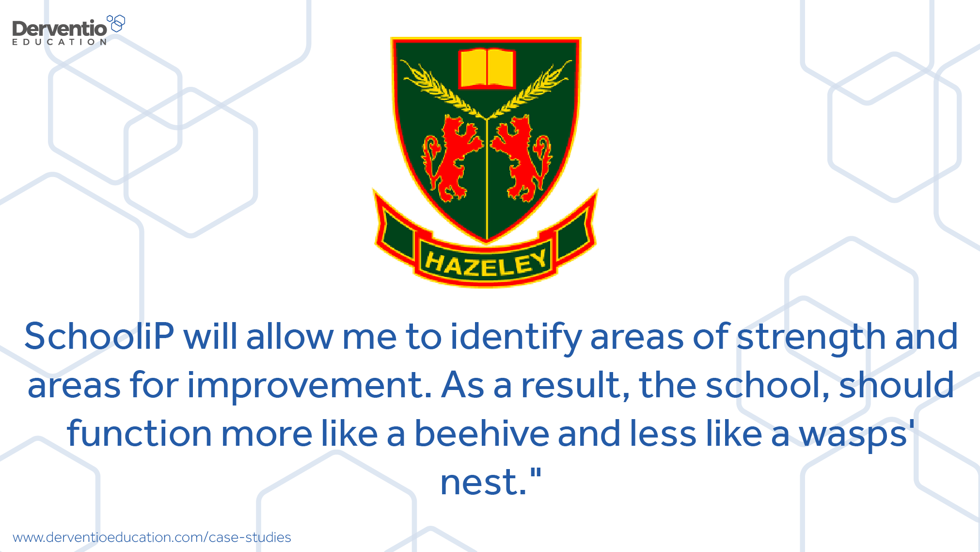 derventio hazeley academy case study hazeley academy