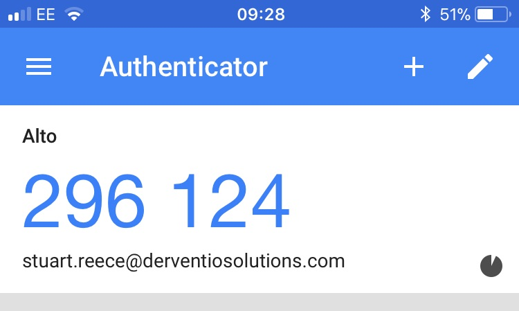 SchooliP - Google Authenticator